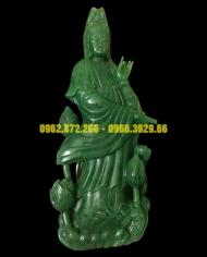 Phật Quan Âm Ngọc Aven